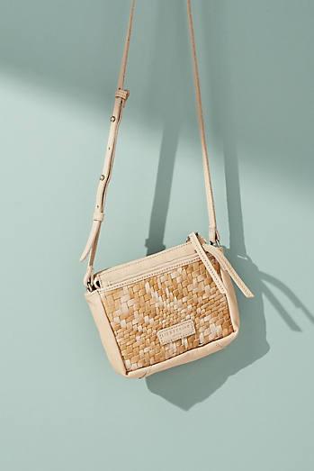 Katima Woven Crossbody Bag
