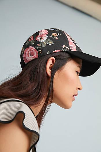 Floral Crown Baseball Cap