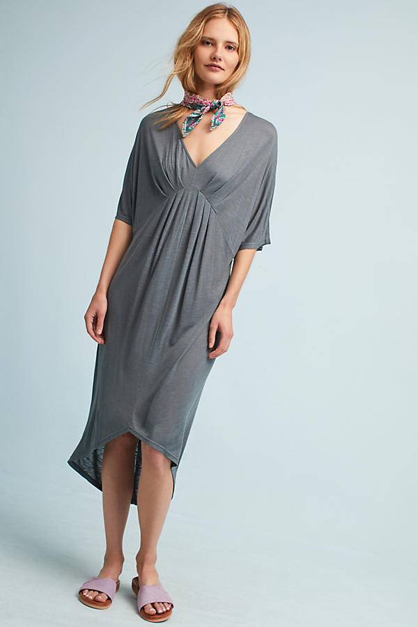 Lyndsie V-Neck Kimono Dress