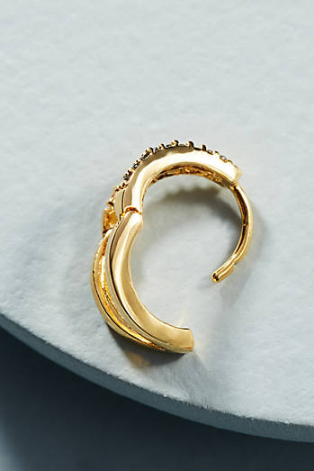Mini Split Hoop Earrings