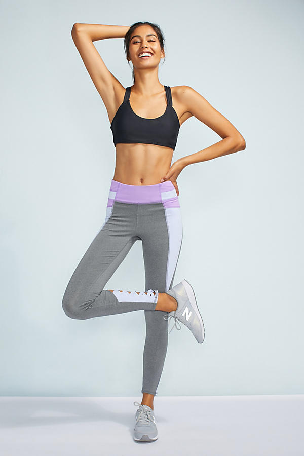 Criss-Cross Colorblock Leggings
