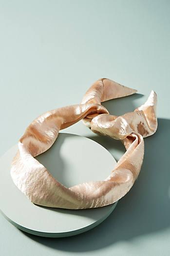 Shimmery Satin Headband