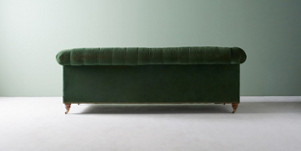 Lyre Chesterfield Two Cushion Sofa Anthropologie