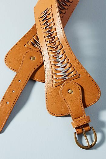 Western Buckle Belt