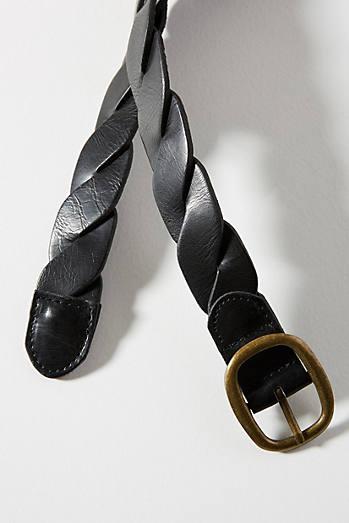 Sacramento Woven Skinny Belt