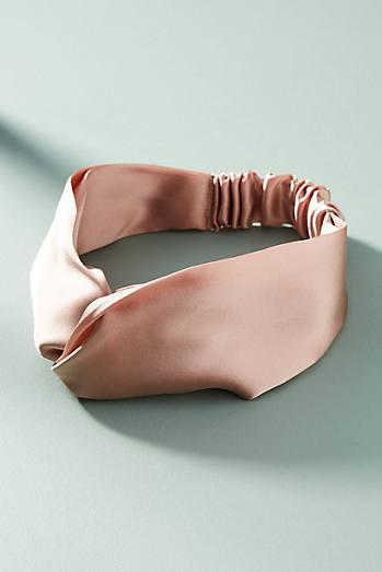 Rosy Silk Headband