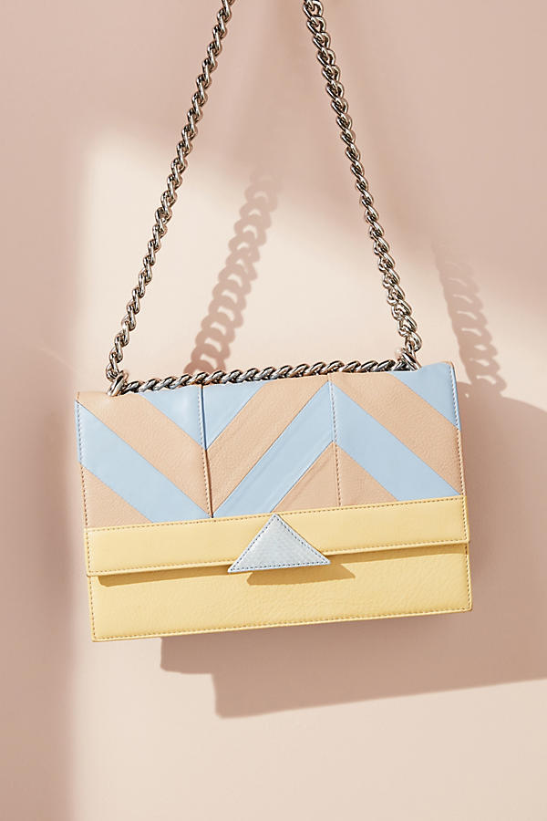 Double Spiga Maxi Crossbody Bag