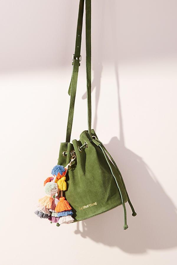 Tangier Drawstring Bucket Bag