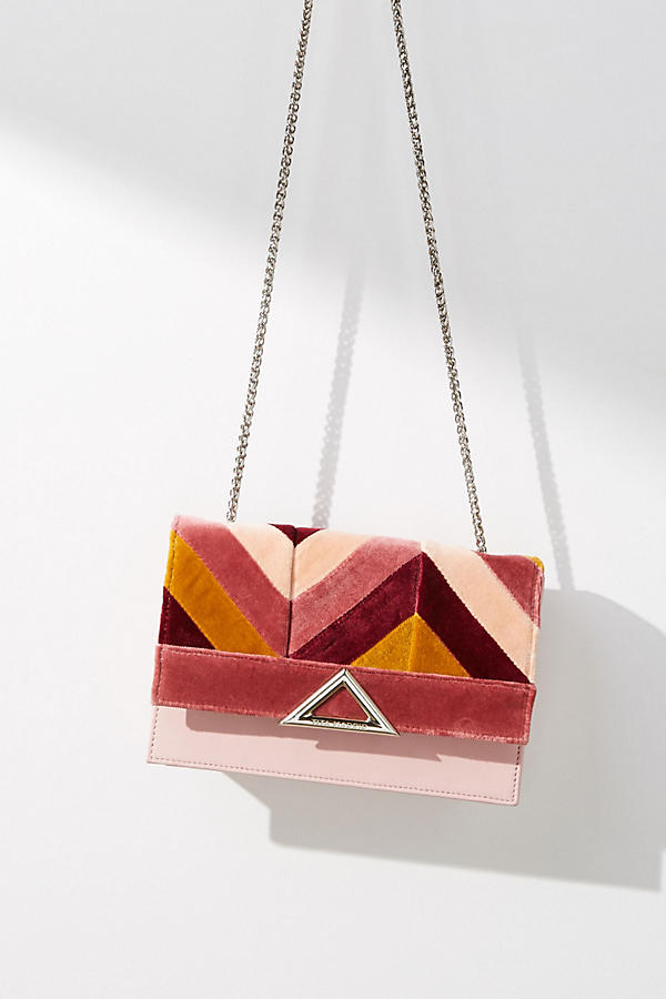 Autumn Colorblock Spiga Crossbody Bag