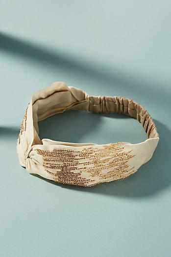 Tonal Beaded Headband