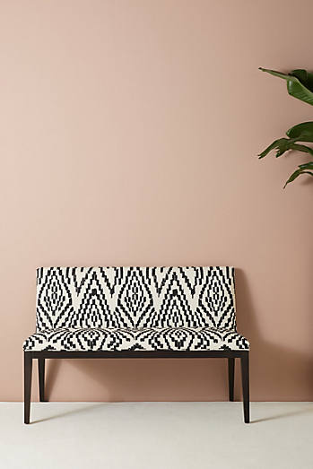 Maura-Printed Emrys Bench