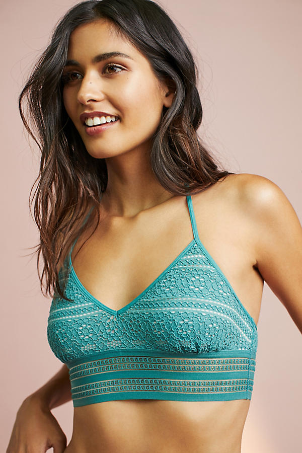 Floreat Lace T-Back Bra