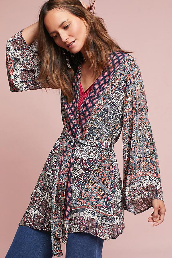Melissani Wrap Kimono