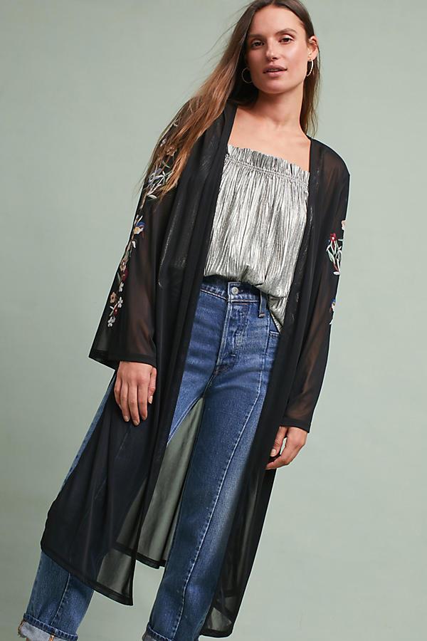Albena Embellished Kimono