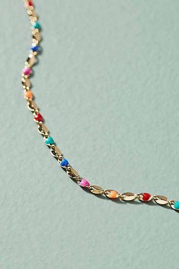 Twinkling Chain Choker Necklace