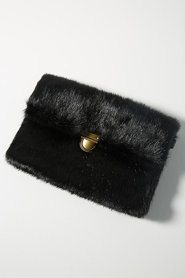 Faux Fur Mini Shoulder Bag