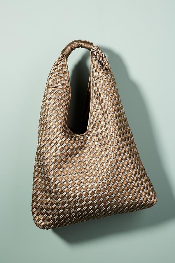Henrietta Woven Shoulder Bag
