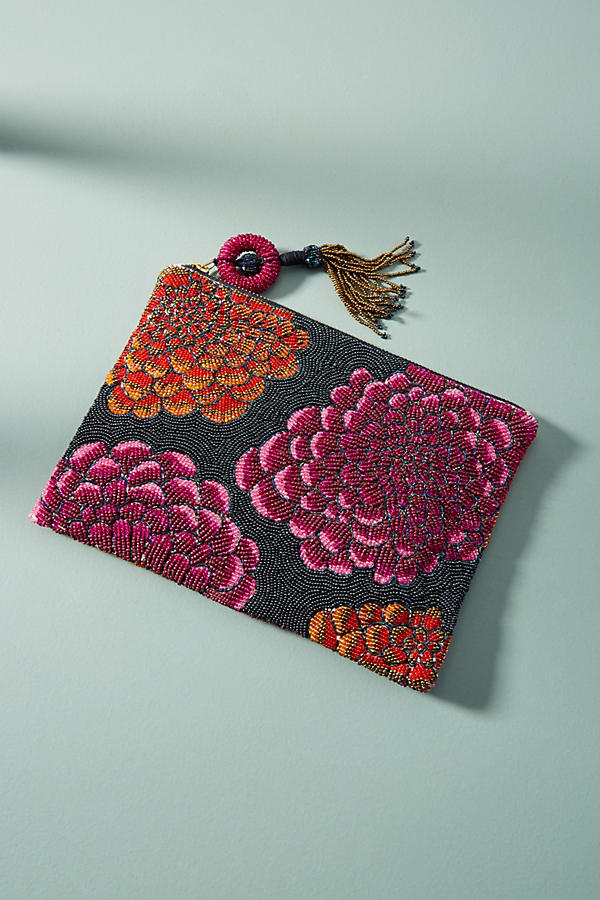 Primula Beaded Pouch