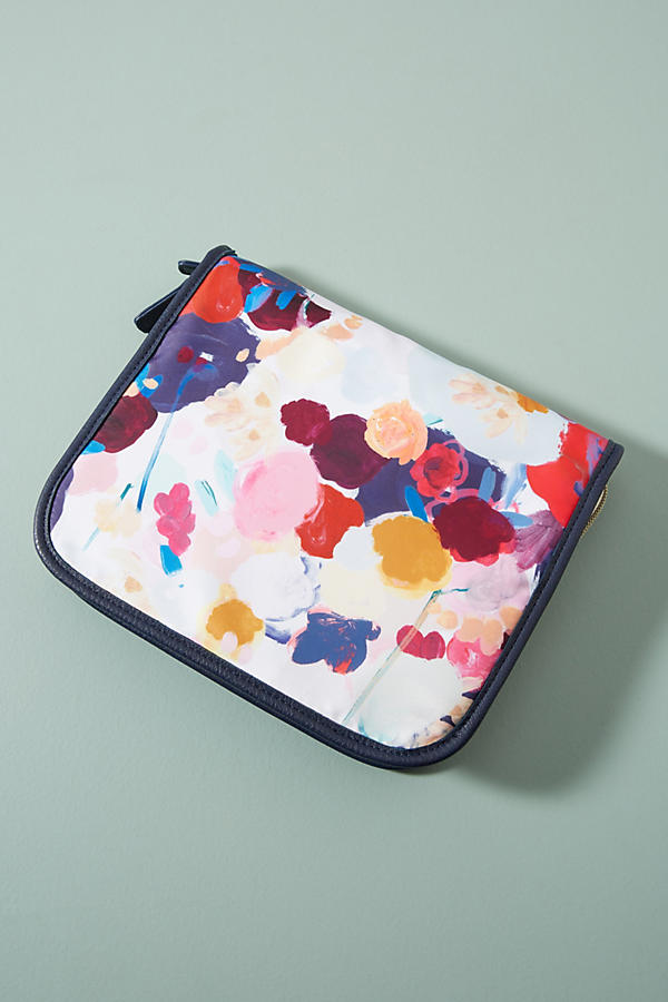 Floral Overlay Jewelry Case