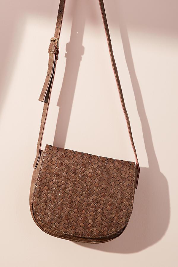 Reade Woven Saddle Bag