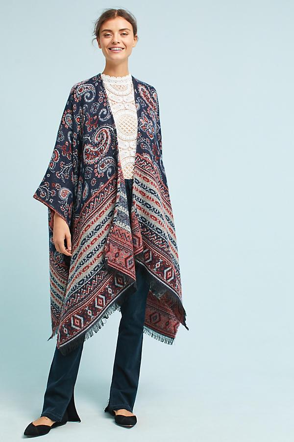 Cozy Paisley Kimono