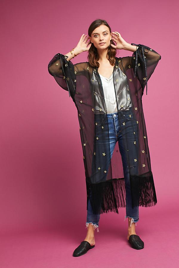 Fringed Star Kimono