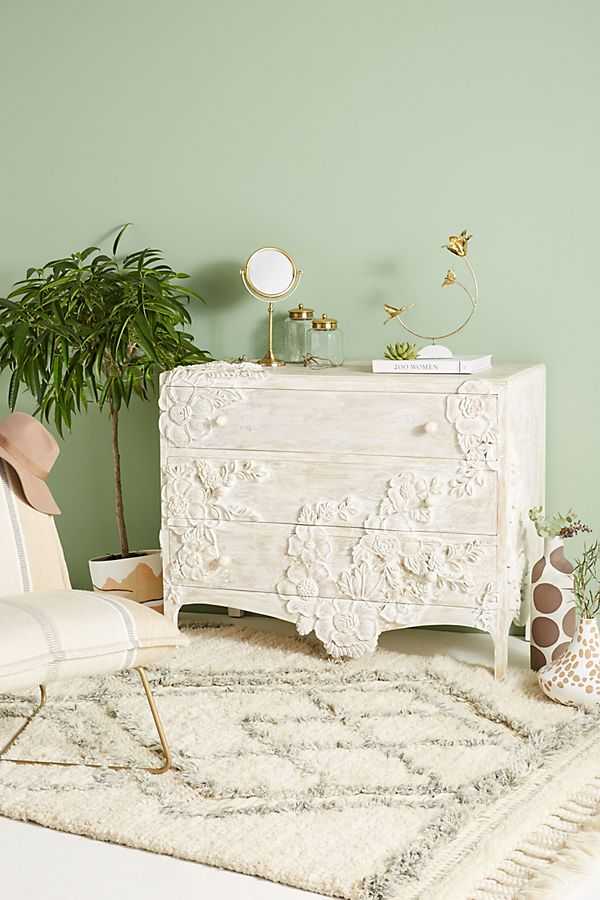 Slide View: 1: Enchantment Three-Drawer Dresser