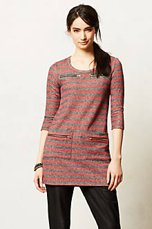 Zip-Stripe Tunic