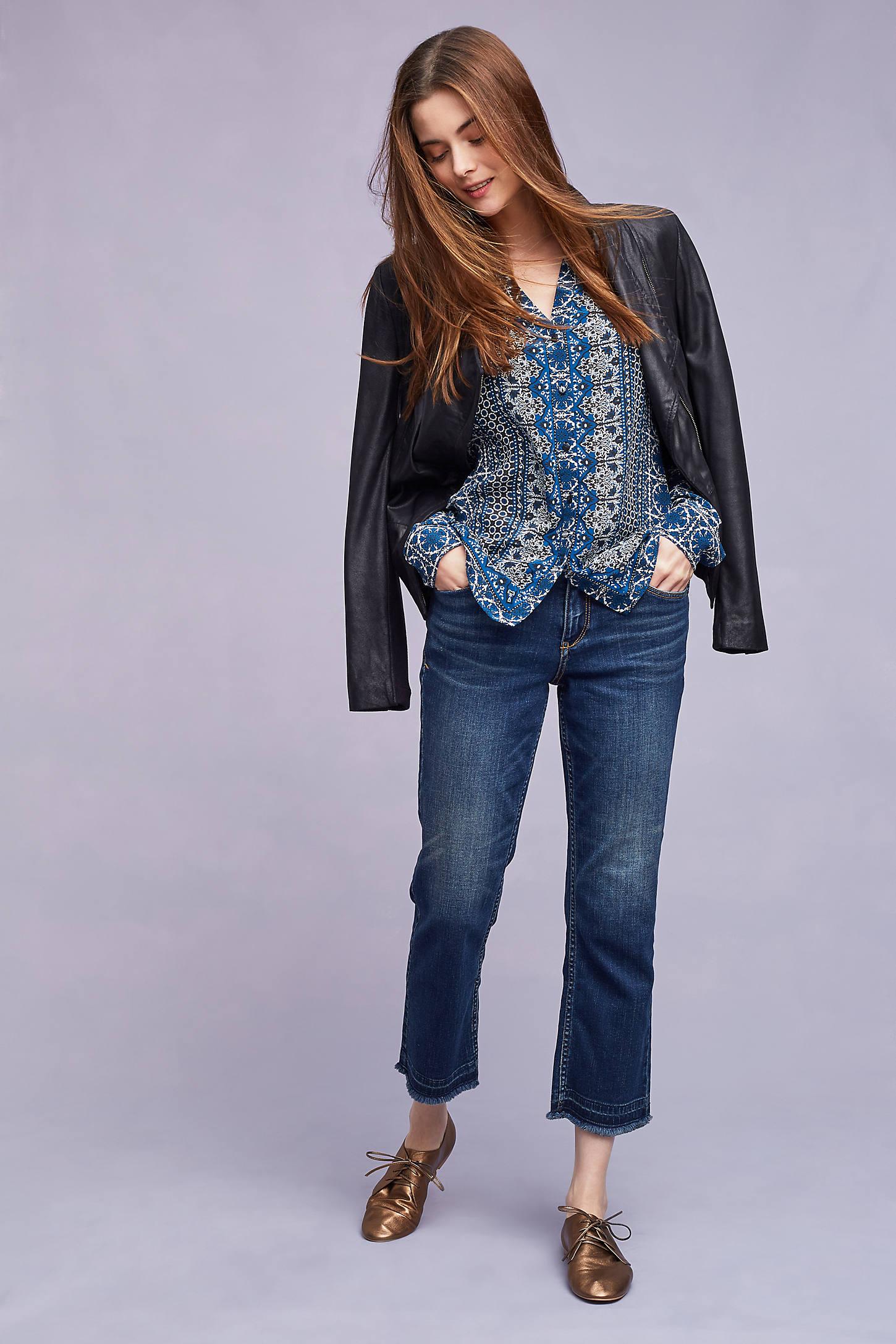 Veronique Silk Shirt, Blue