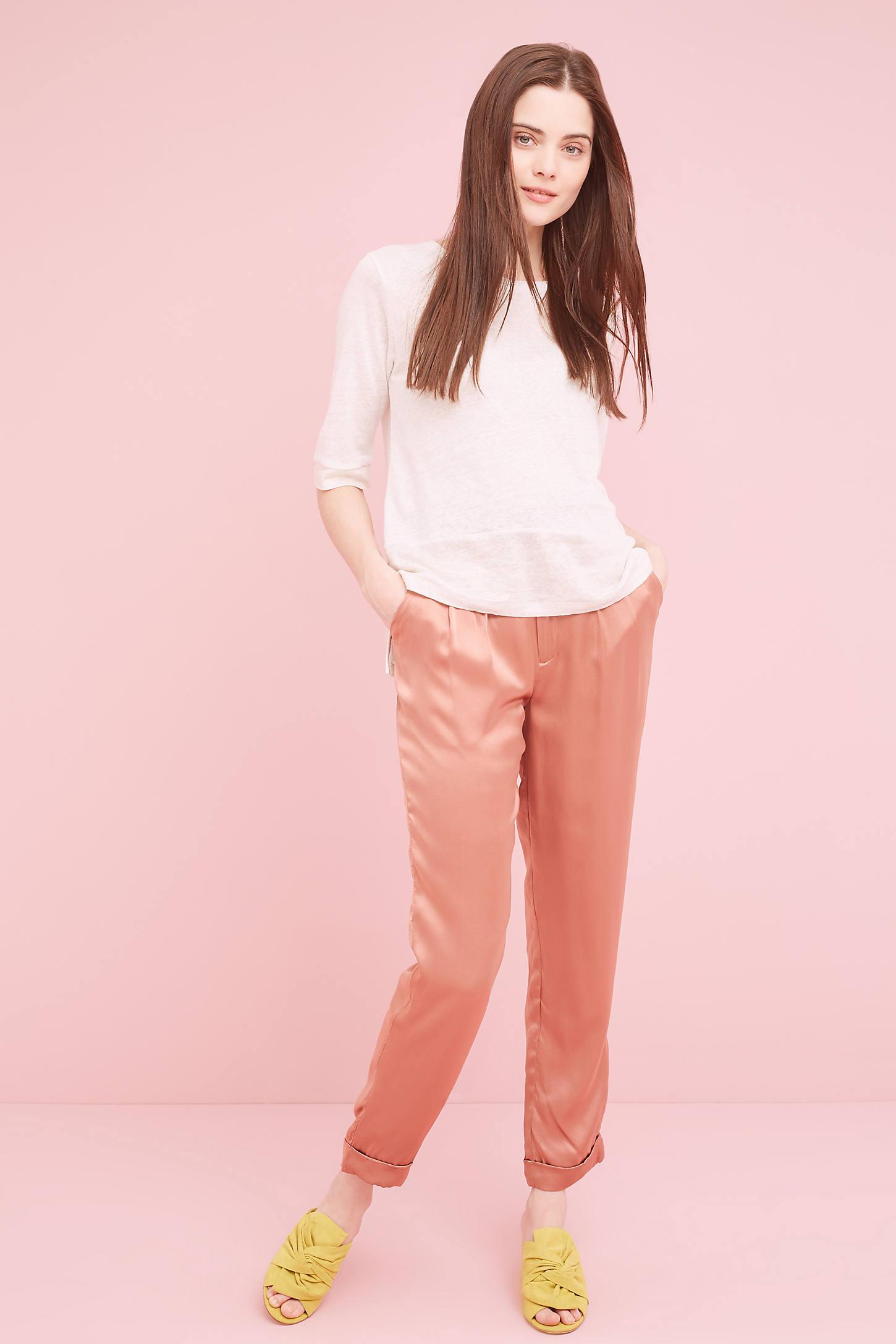 Keely Linen T-Shirt, Ivory