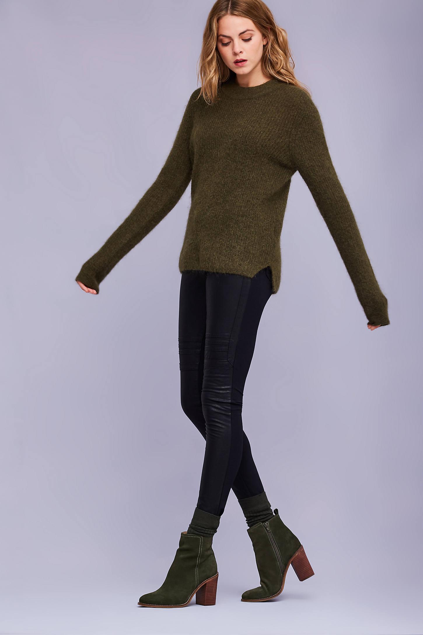 Alycia Mohair Jumper, Khaki