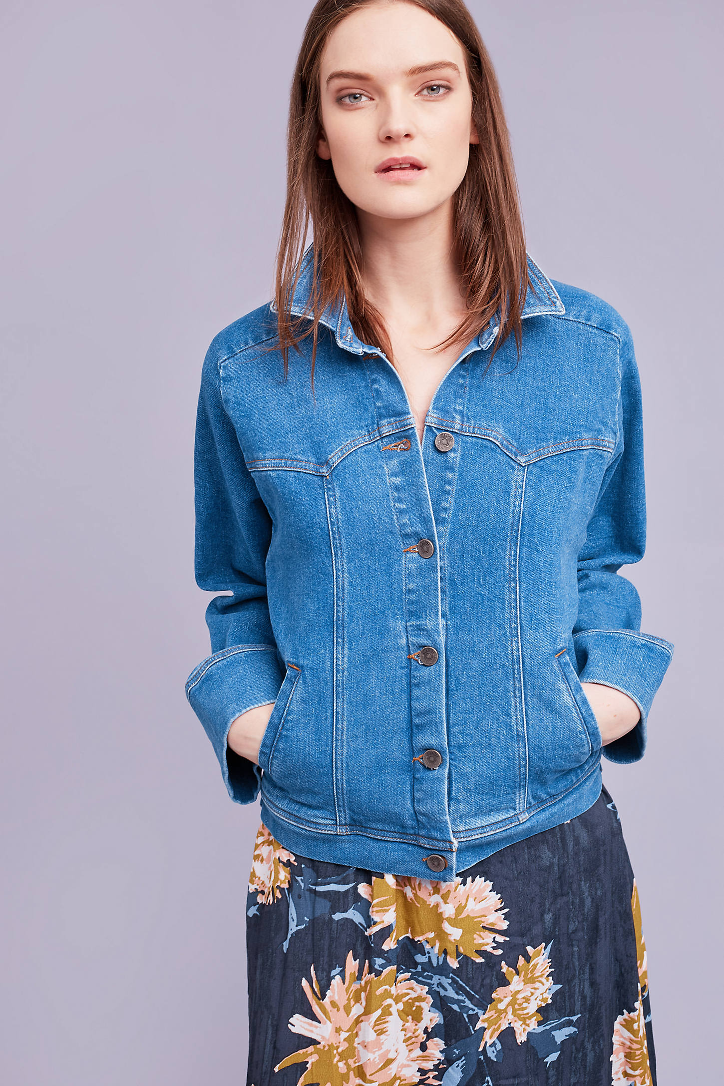 Cecily Denim Jacket, Blue