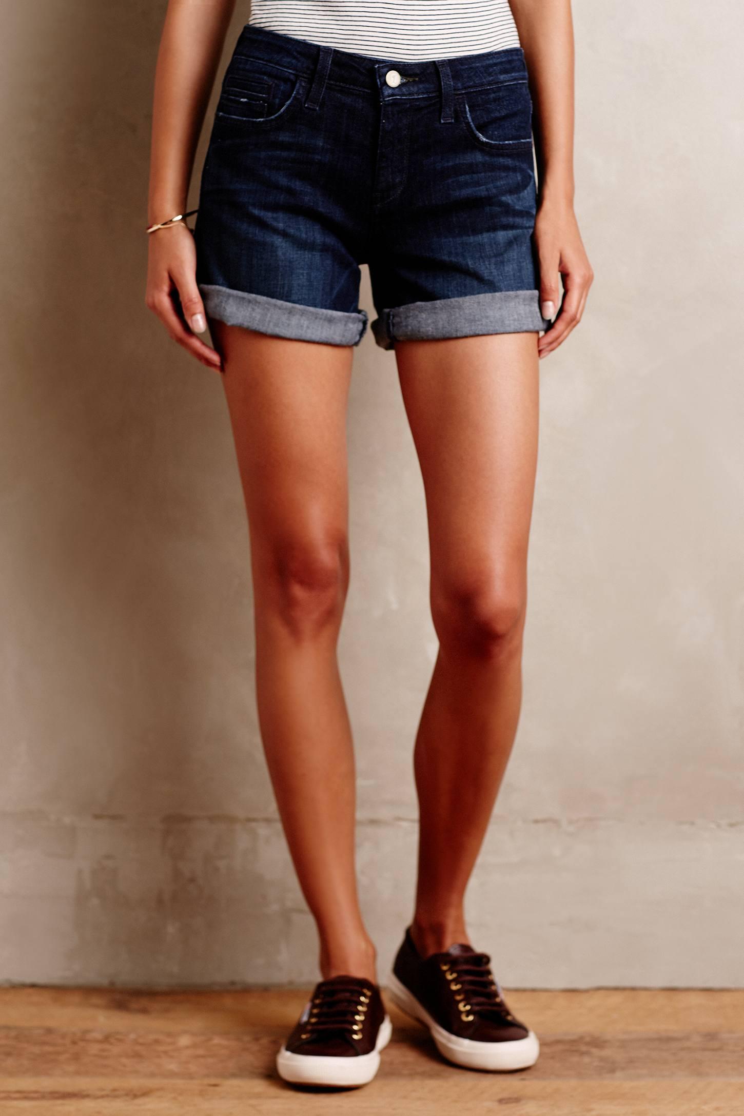 Pilcro Denim Roll-Up Shorts
