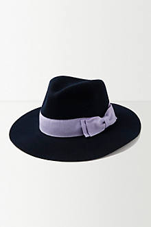 Looped Bow Trilby