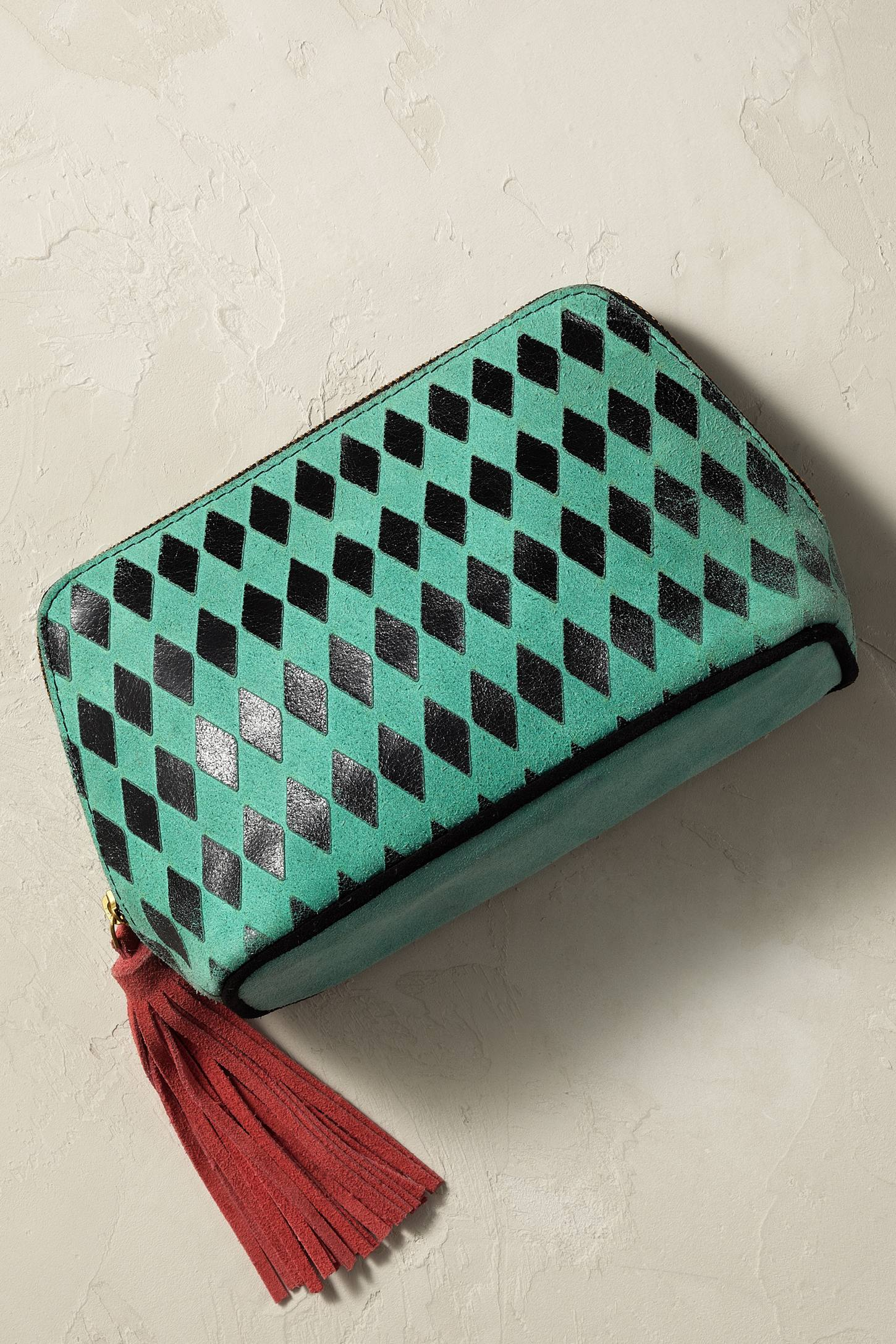 Chequered Diamonds Cosmetic Case