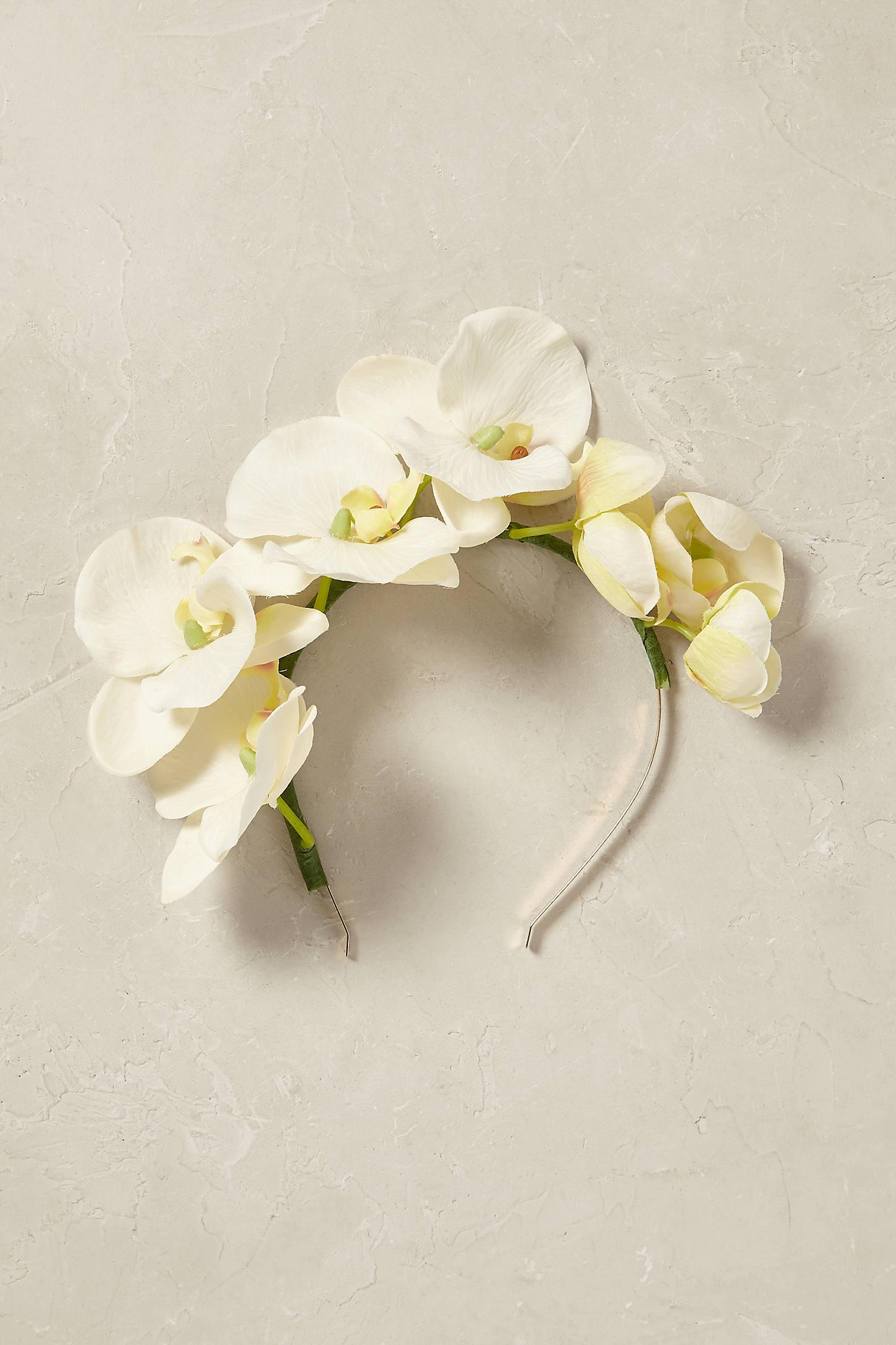 Orchid Crown Headband