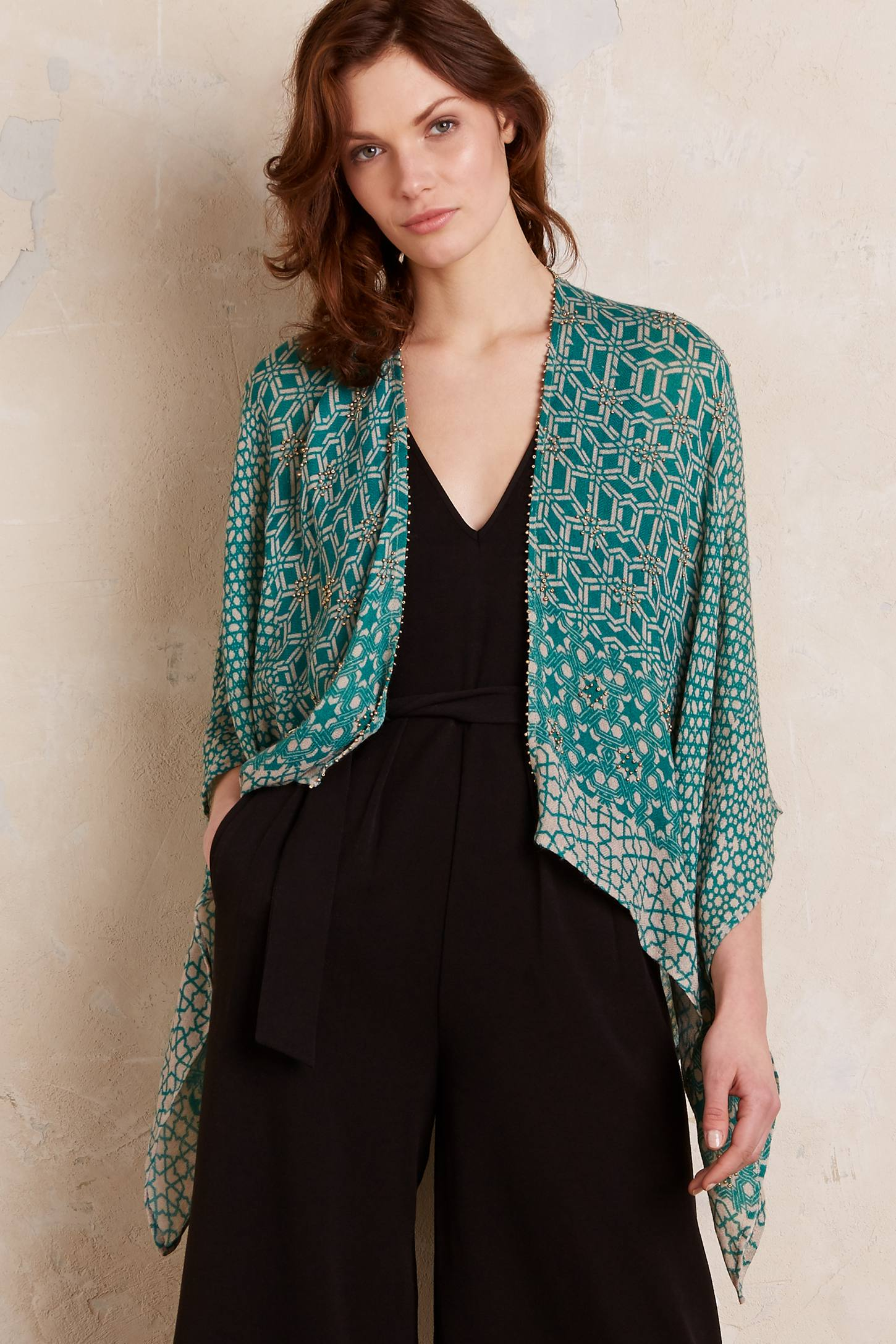 Lovely Things March 2016 - Anthropologie Vesper Shawl