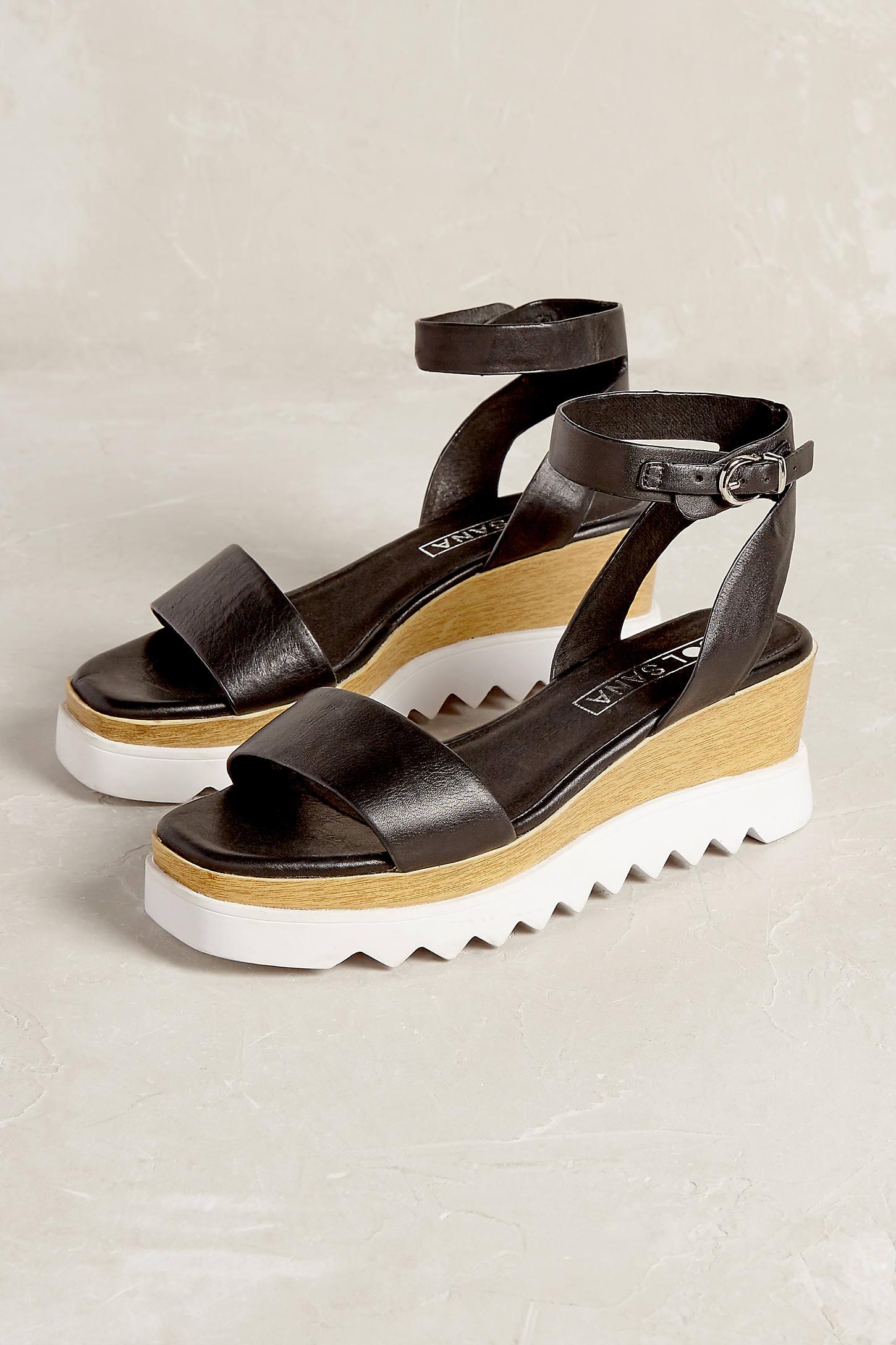 Corinne Wedge Sandals