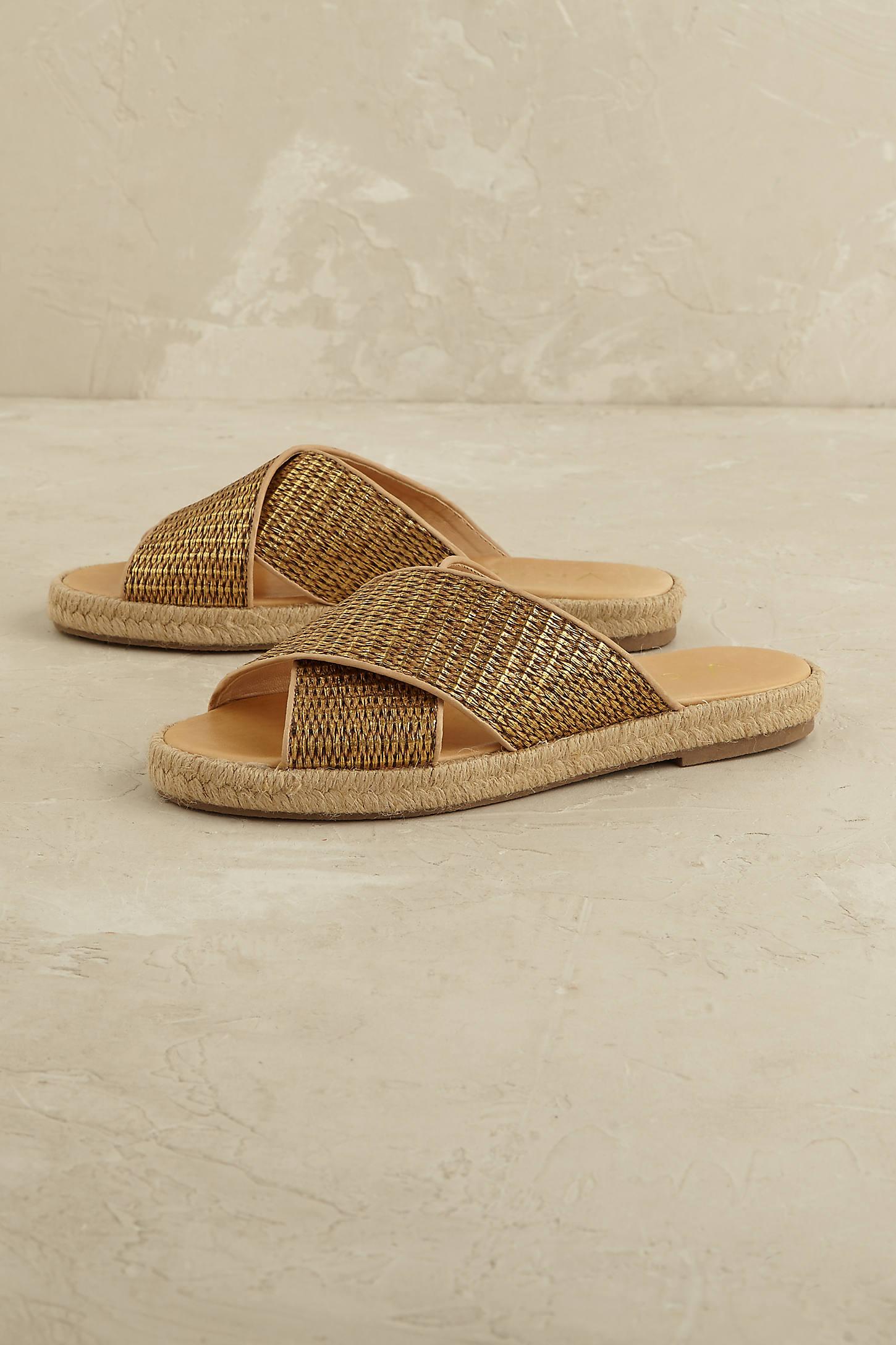 Tessa Metallic Sandals