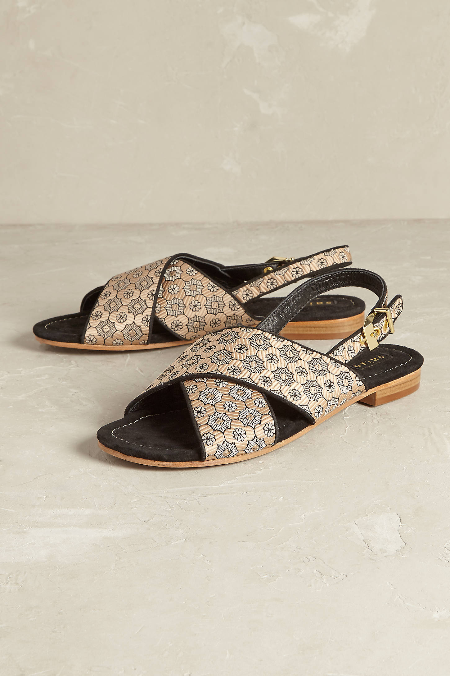Selena Cross-Front Sandals