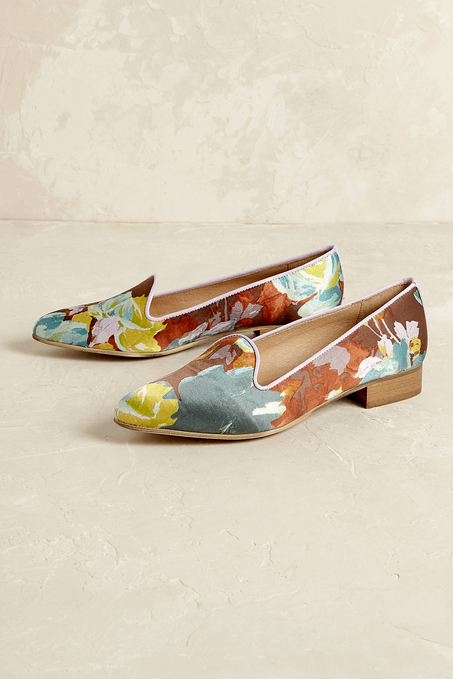 Kirsten Floral Loafers