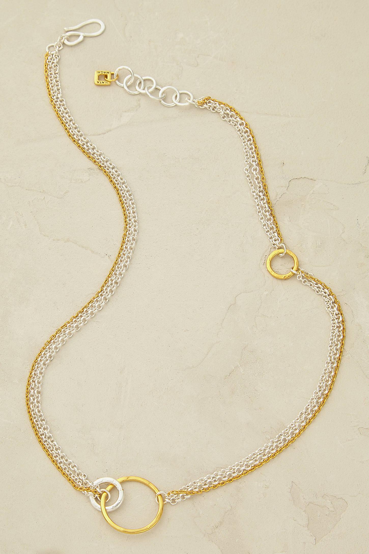 Maya Magal Alyssa Hoop Necklace