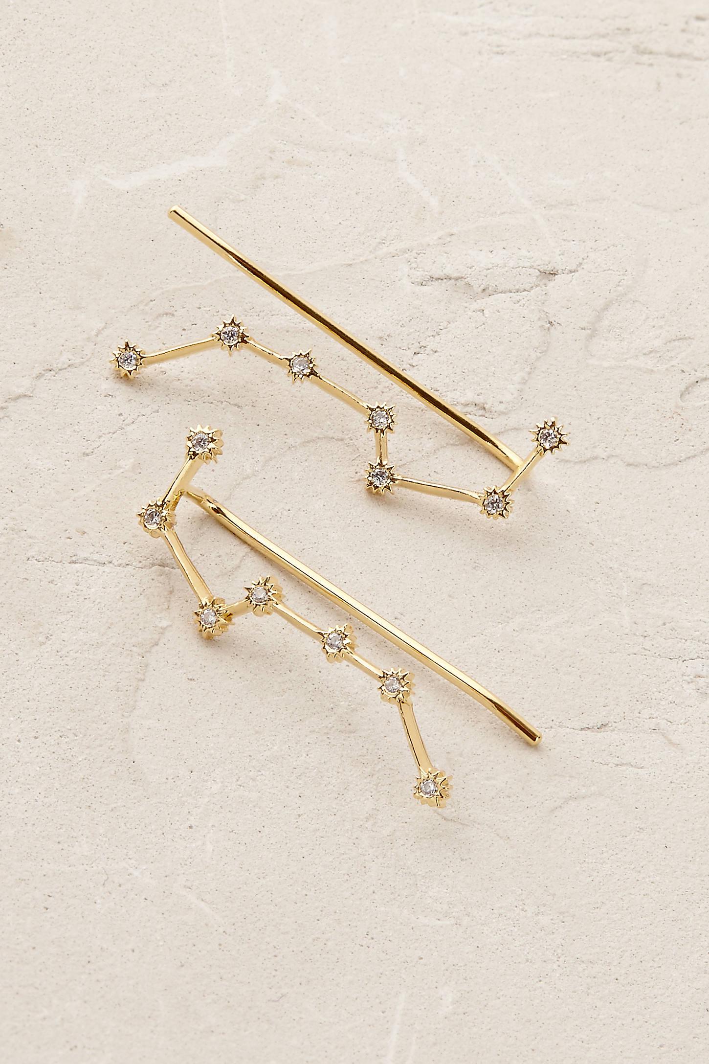 Constellation Crawler Earrings