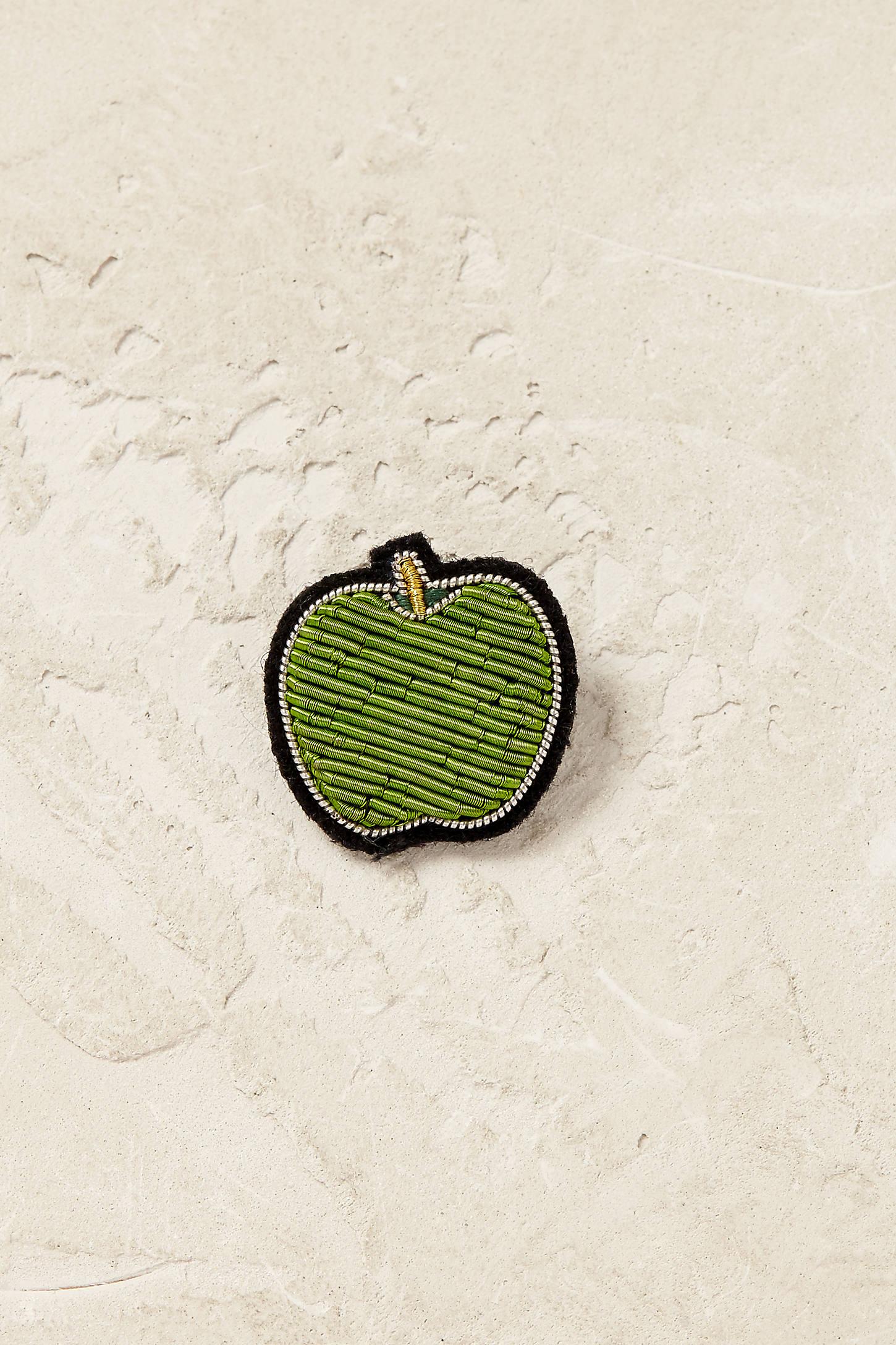 Apple Pin Badge