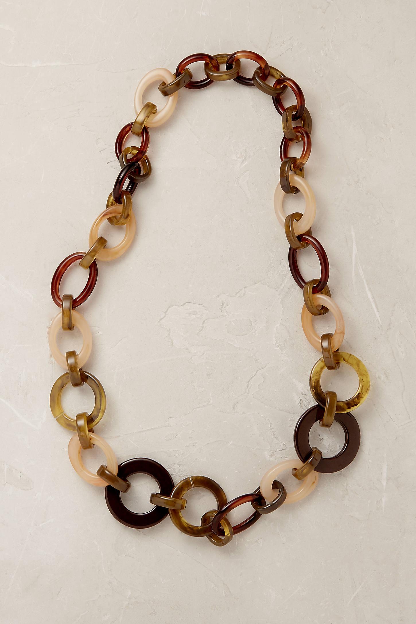Romy Tortoiseshell Necklace