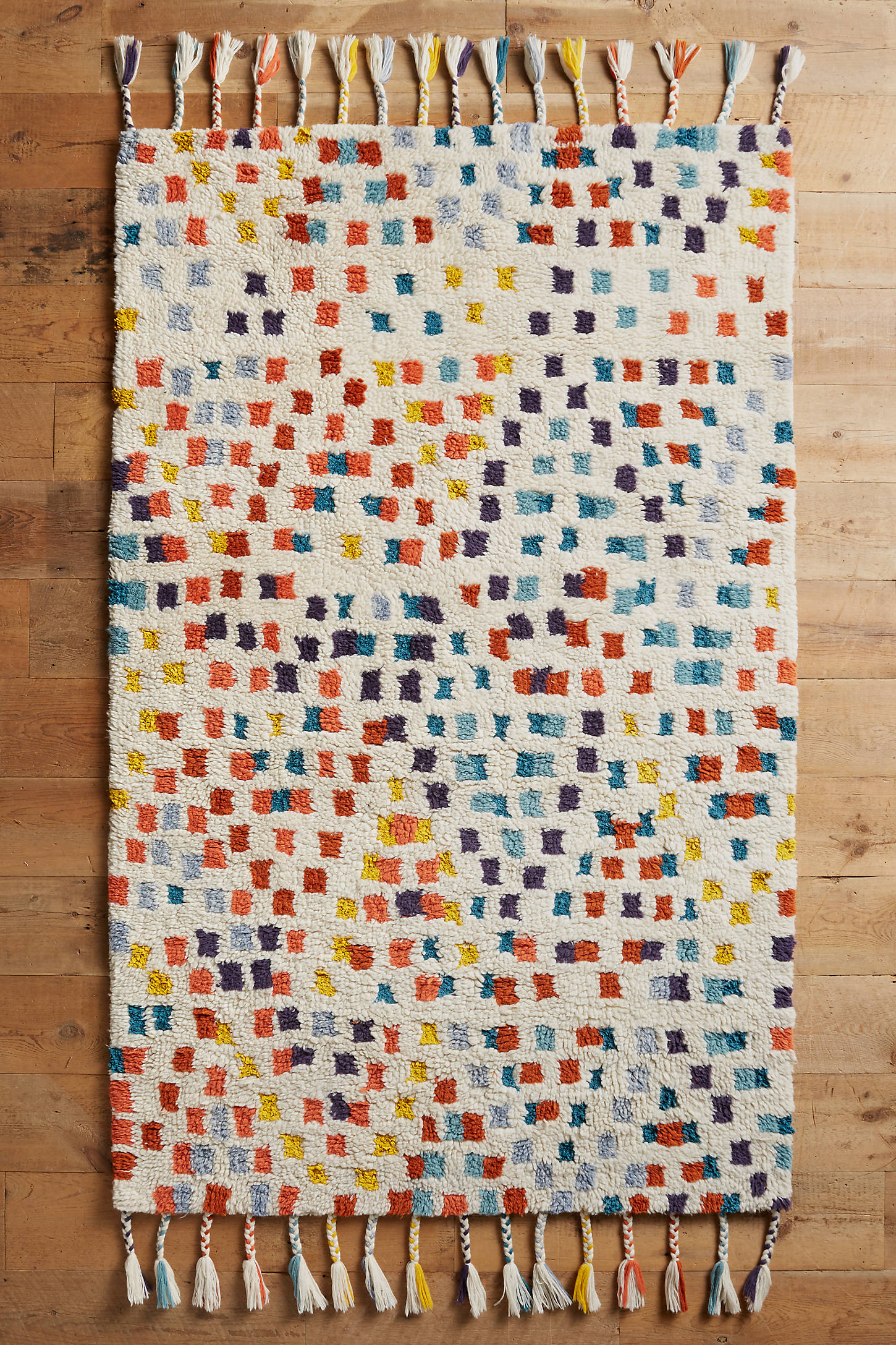 Multi-Dotted Rug