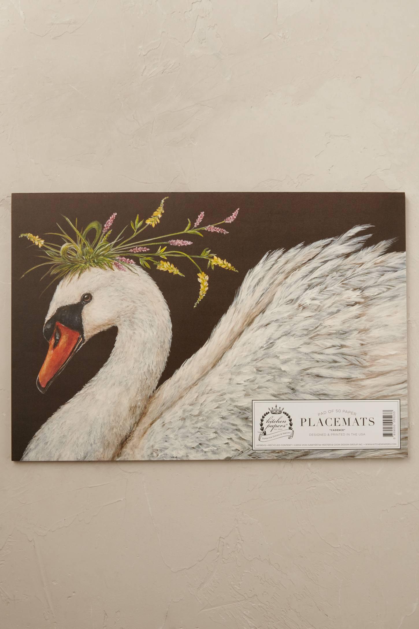 Birdsong Placemat Pad
