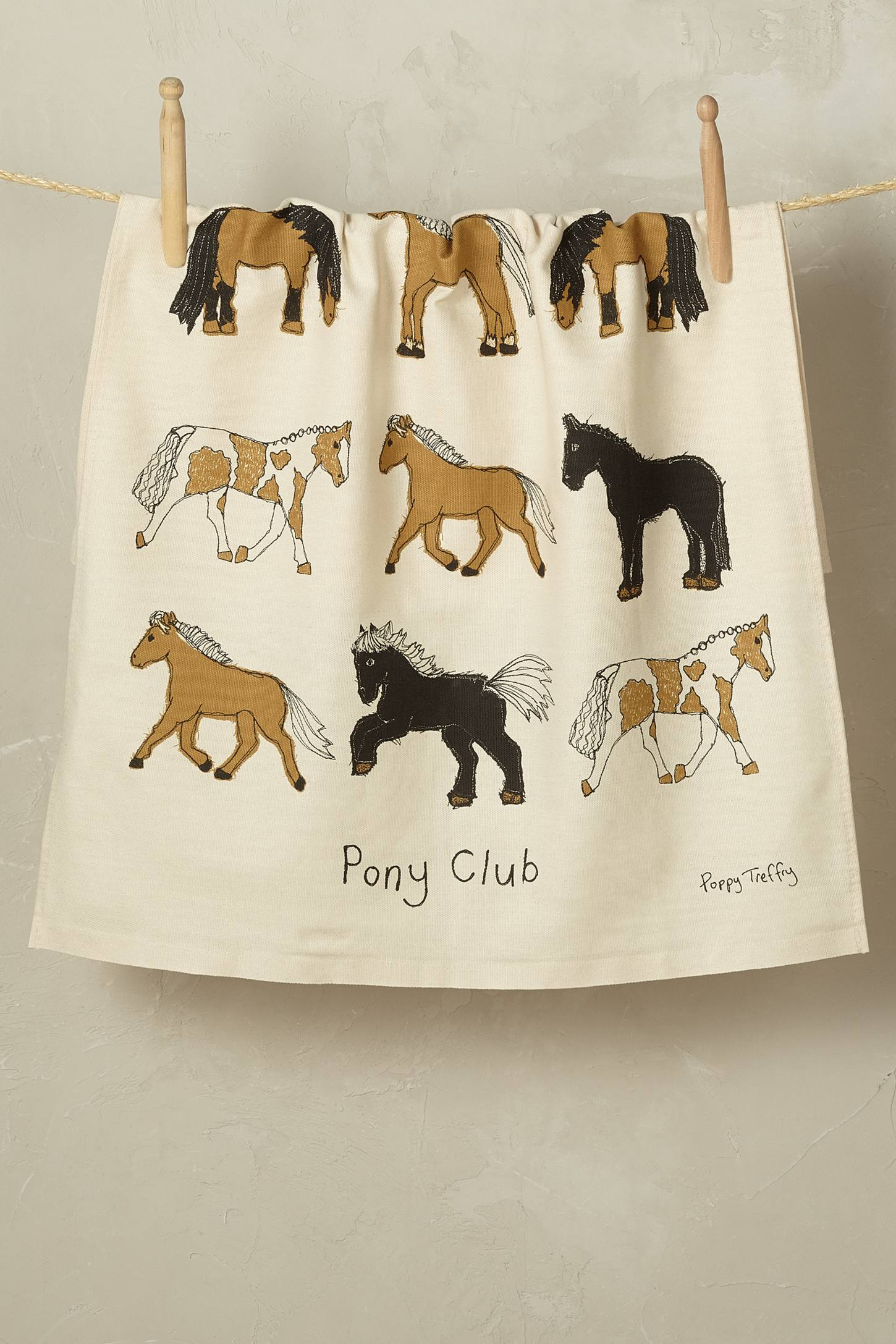 Pony Club Tea Towel
