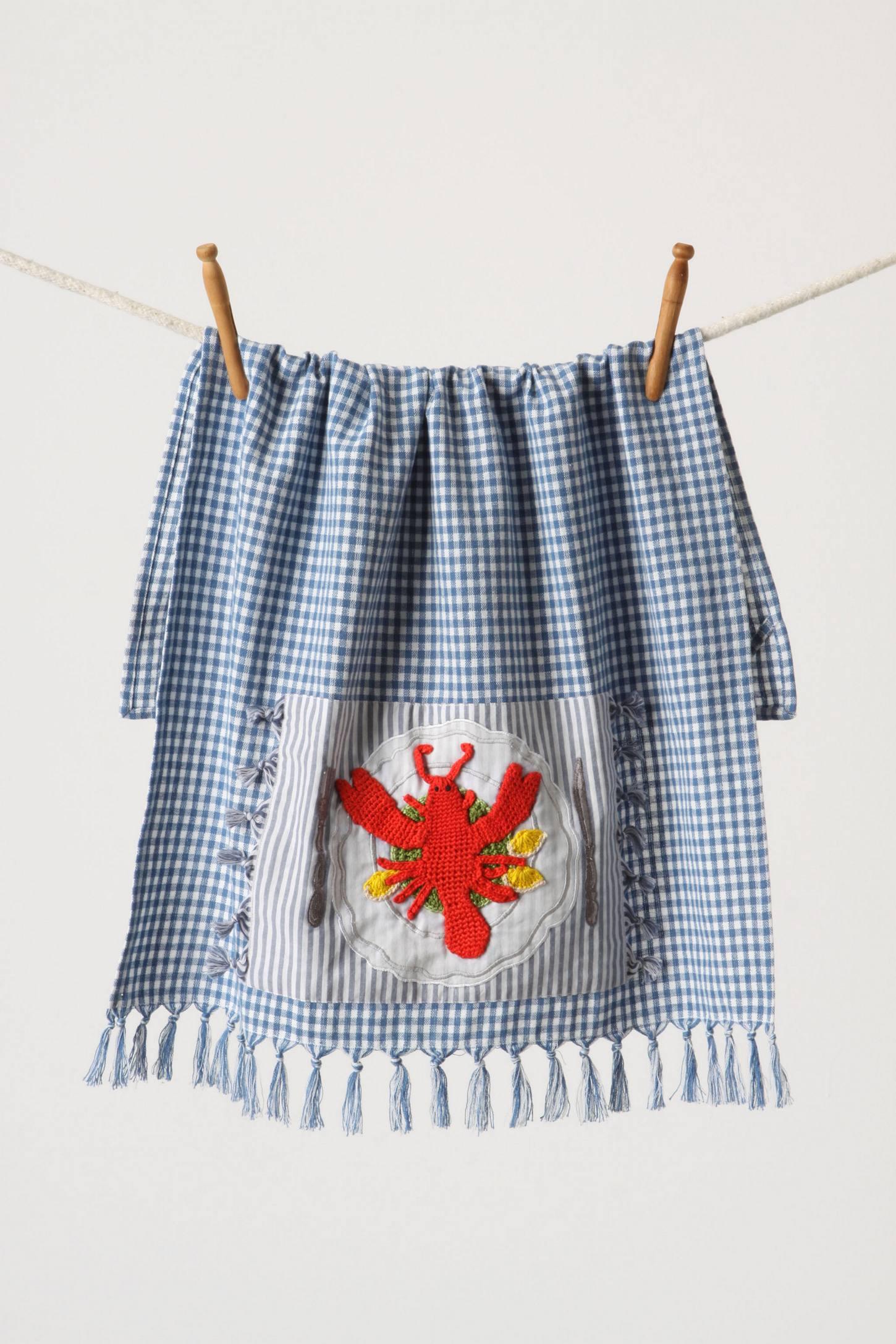 Palmer's Cove Tea Towel, Lobster
