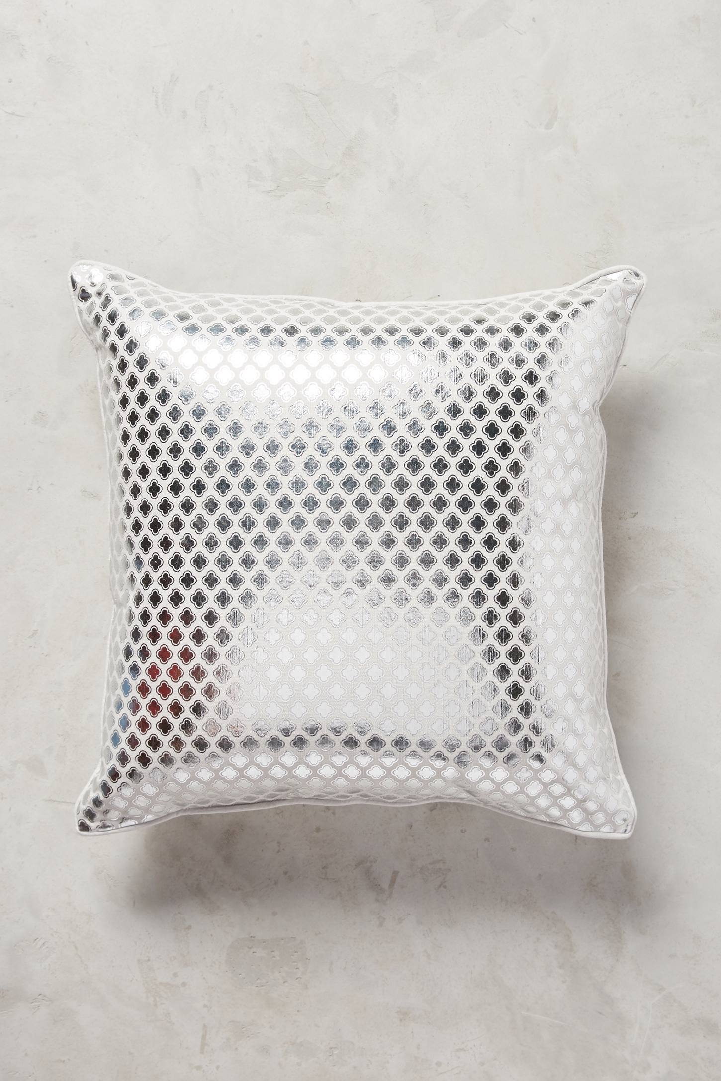 Quatrefoil Cushion